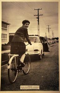 Vintage NZ MoT Dooring Poster